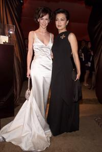 Ming Na Wen and Jennifer Love Hewitt at the In Style/Warner Bros. post-Golden Globes party.