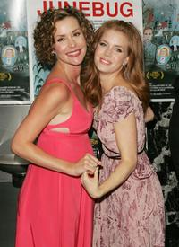 Embeth Davidtz and Amy Adams at the premiere of