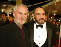 Bernard Hill and John Rhys-Davies at the premiere of