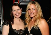 Geena Davis and softball player Jennie Finch at The Billies presented by The Women's Sports Foundation.