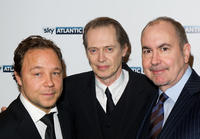 Stephen Graham, Steve Buscemi and Terence Winter at the launch of the Sky Atlantic channel in England.