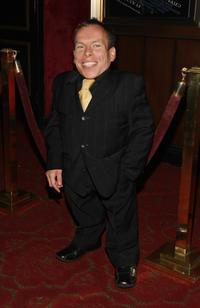 Warwick Davis at the premiere of