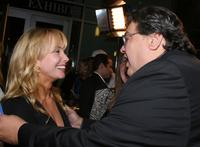 Rebecca De Mornay and veteran Richard Pimentel at the LA Premiere Of