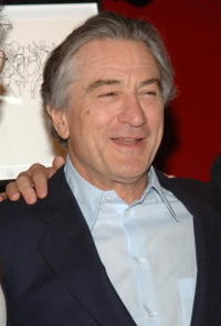 Robert De Niro at the Fifth Annual Tribeca Film Festival Awards Night in N.Y.
