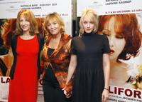 Nathalie Baye, Mylene Demongeot and Ludivine Sagnier at the photocall of
