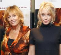 Mylene Demongeot and Ludivine Sagnier at the photocall of