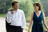 Patrick Dempsey as Tom and Michelle Monaghan as Hannah in