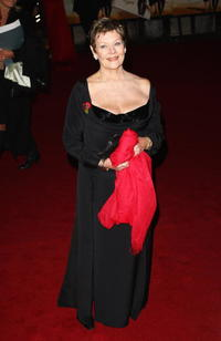 Judi Dench at the world premiere of