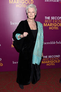 Judi Dench at the New York Premiere of