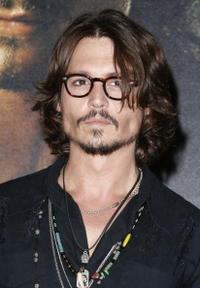 Johnny Depp at the French premiere of