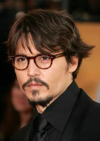Johnny Depp at the 11th Annual Screen Actors Guild Awards.