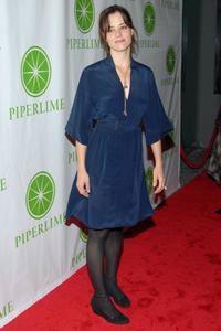 Parker Posey at the Gap's new shoe shop launch, Piperlime.com.