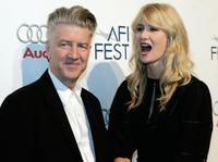 Laura Dern and David Lynch at the American Film Institute Festival .