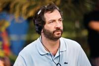 Writer/director/producer Judd Apatow on the set of