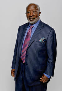 Clarence Avant at the portrait session of 41st NAACP Image awards in California.