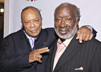 Producer Quincy Jones and Clarence Avant at the 20th Annual Midsummer Night's Magic Awards in California.