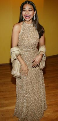 Ayesha Dharker at the opening night after-party of