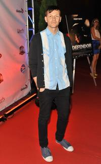 Paul Anthony at the premiere of