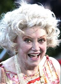Phyllis Diller at the premiere of the MGM film