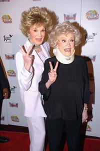 Phyllis Diller and Phyullis McGuire at the screening of the Aristrocrats during Cinevegas 2005.