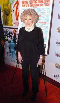 Phyllis Diller at the screening of