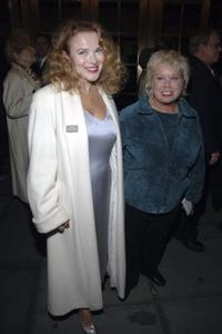 Maureen Moore and Denny Dillon at the opening night performance of Grey Gardens.