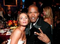 Gabrielle Anwar and Jamie Foxx at the 35th AFI Life Achievement Award tribute to Al Pacino held at the Kodak Theatre.