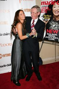 Gabrielle Anwar and Morgan O'Sullivan at the New York premiere of Showtime's