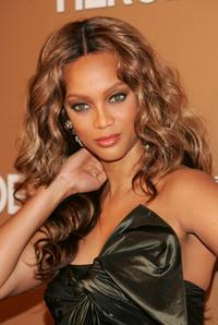 Tyra Banks at the CNN Heroes: An All-Star Tribute.