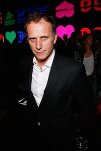 Charles Berling at the launch of the new clothing line JCDC.