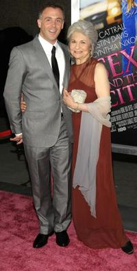 David Eigenberg and Lynn Cohen at the premiere of