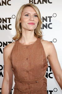 Claire Danes at a party to celebrate Montblanc's 100th Anniversary in N.Y.