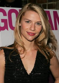 Claire Danes at the Gotham magazine party in N.Y.