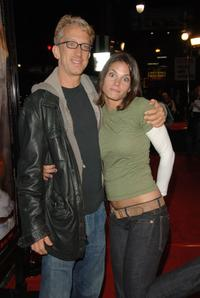 Andy Dick and Missy Peregrymat at the premiere of