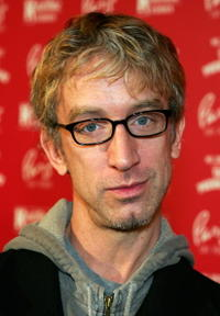 Andy Dick at the grand opening of