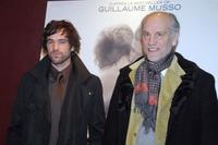 Romain Duris and John Malkovich at the premiere of