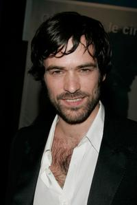 Romain Duris at the premiere of