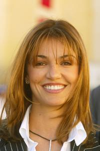 A File photo of French actress Nadia Fares, dated October 9, 2003.
