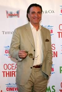 Andy Garcia at the CineVegas Film Festival opening night of