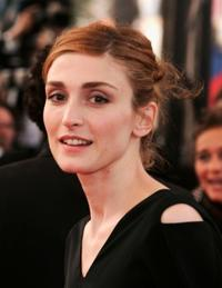 Julie Gayet at the premiere of