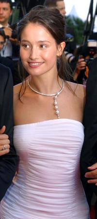 Marie Gillain at the Palais des Festivals for the screening of