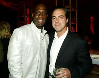 Richard T. Jones and Titus Welliver at the after-party of
