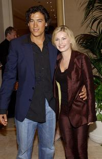 Andrew Keegan and Elisha Cuthbert at the 28th Annual Saturn Awards.