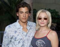 Andrew Keegan and LeAnn Rimes at the premiere of