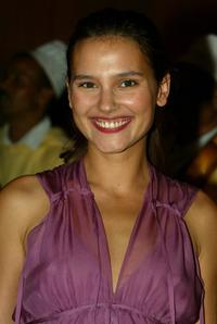 Virginie Ledoyen at the opening ceremony of the Marrakech Film Festival.