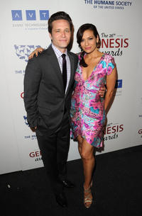 Seamus Dever and Constance Marie at the 26th Annual Genesis Awards in California.