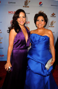 Constance Marie at the president/CEO Janet Murguia red carpet of 2011 NCLR ALMA Awards in California.