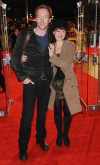 Damian Lewis and Helen McCrory at the premiere of