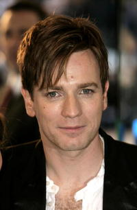 Ewan McGregor at the UK Premiere of 'The Island' in London.