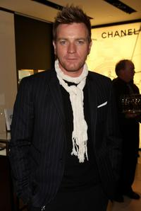 Ewan McGregor at the Chanel party for